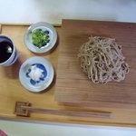 すさかべ庵 - ざる蕎麦  800円