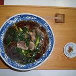 すさかべ庵 - ネギ蕎麦  1000円