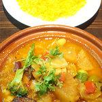 モロッコ風 野菜のクスクス。