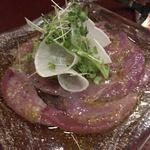 ビストロ オレイユ - 富山県産天然カツオのカルパッチョ