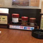 87321045 - テーブルの調味料