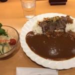 柿安イートイン - 黒毛和牛ぜいたくカレー