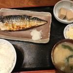 みさち屋 - サバ焼き定食