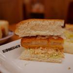 コメダ珈琲店 - エビカツパン