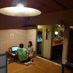 87325035 - 昭和の明かり。