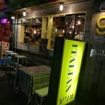 ITALIAN STAND GIGLIO - 外観はカジュアルでオーブン、カフェバーのような気軽な雰囲気