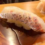 吉乃寿司 - 鯛 塩 酢橘