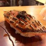 吉乃寿司 - カマス 炙り 唐辛子の醤油漬け