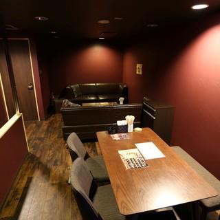 色んなシーンで利用できる使い勝手の良い空間。