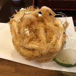 更里 - 白海老天ぷら