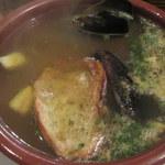 シャティバ - 鯛とムール貝のスープ