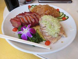 横浜中華街 華福飯店 - 前菜盛り合わせ
