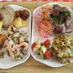 ヒルトップ - ローストポーク と 鹿肉のカルパッチョ が特に美味しい♪