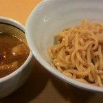 麺や朱雀 - 濃厚つけ麺