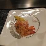 新横浜プリンスホテル - 車海老がここまで解体されました!美しい!