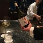 新横浜プリンスホテル - 天国と地獄という名のスペイン酒白ワイン
