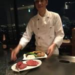 新横浜プリンスホテル - 黒毛和牛のヒレとロース