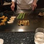 新横浜プリンスホテル - 野菜を撮るフリをしてシェフに夢中な私を仲間は皆で「パー子」と呼ぶ