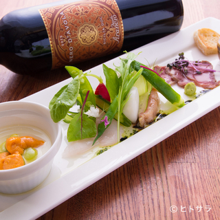 美味しいお料理とワインの前では、思わず会話も弾みます!