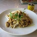龍鳳 - 葱姜牛肚(牛モツ葱あえ)
