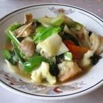 龍鳳 - 什錦炒麺(五目ヤキソバ)