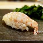 ゆう座 - [2018/05]寿司⑥ えびの握り