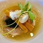 寿製麺よしかわ - 料理写真:芳醇 真鯛そば