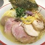鶏そば 朱雀 - 料理写真:鶏白湯そば極み¥1100+大盛り¥100