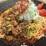 鶏そば 朱雀 - 冷やし坦々麺200g¥890