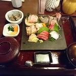 姫沙羅 - 2018年6月 魚河岸定食 2200円+税
