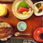 姫沙羅 - 2018年6月 うな姫丼 2530円+税