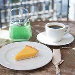 ゼロハチコーヒー - 「僕のケニア」、レモンのタルト