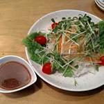 炭火焼肉ぽんぽん - 料理写真:大根サラダ580円