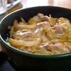 けんちゃんうどん - 料理写真:B定食、親子丼