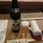 旬味 泰平 - 瓶ビール(中瓶) 600円 (2018.6)