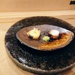 87342299 - 地物の蛸、塩茹でと桜煮だったかな