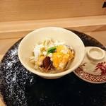 87342305 - 渡り蟹の蒸し寿司
