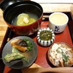 bisutorokappouyaoya - 八寸 どれも日本酒にピッタリ!