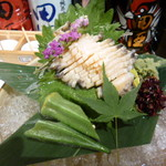 bisutorokappouyaoya - 鮑のお刺身