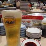 寿しのむさし - 生ビール