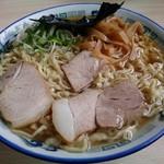 ケンちゃんラーメン - 中華そば普通(硬麺)