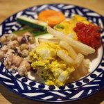 タント タント - 前菜サラダバー