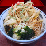 やしま - 料理写真:かき揚げそば(380円)