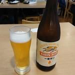 銀蔵 - 瓶ビール(550円)