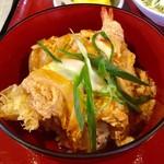 """そば松 - 料理写真:""""ミニ丼ミニそばセット""""のミニ丼(天とじ丼)。"""