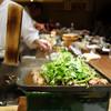 赤坂 こみかん - 料理写真:名物のくわ焼き。鴨と糸島クレソン。