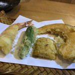 手打ち蕎麦 いしはら - 天ぷら