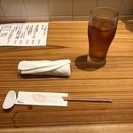 カジュアル割烹 Shun - 卓上