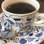 ハナハナカフェ - ランチメニュー+200円のコーヒー