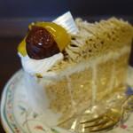 仏蘭西菓子 La France - 焙煎栗のモンブラン